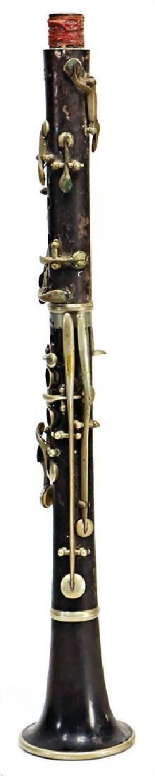 JULIUS RUDOLF, Gothar clarinet in C, made of
