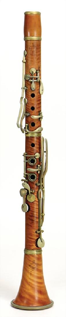 BUFFET CRAMPON PARIS clarinet in c, made of boxwood,