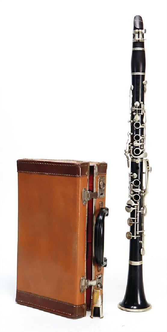 clarinet in b, signature Amati Kralice Czechoslovakia,