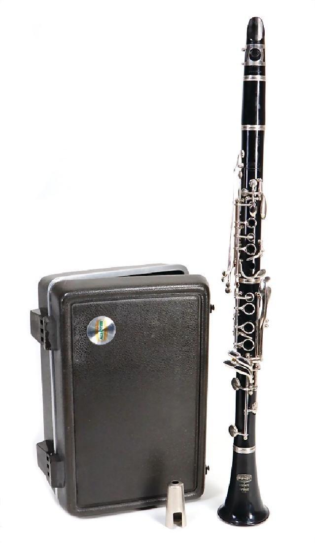 GEORG BUNDY clarinet in b, made of plastic, Boehm