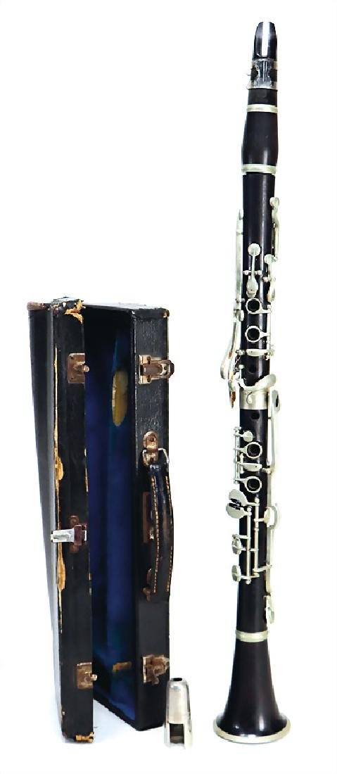 clarinet in b, unsigned, German system, mouthpiece v.