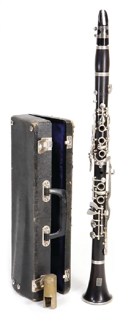 RICHARD KEILWERTH clarinet in b, made of grenadilla,