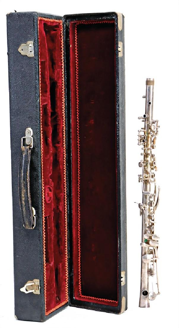 parts able to use as replacement parts, silver-clarinet