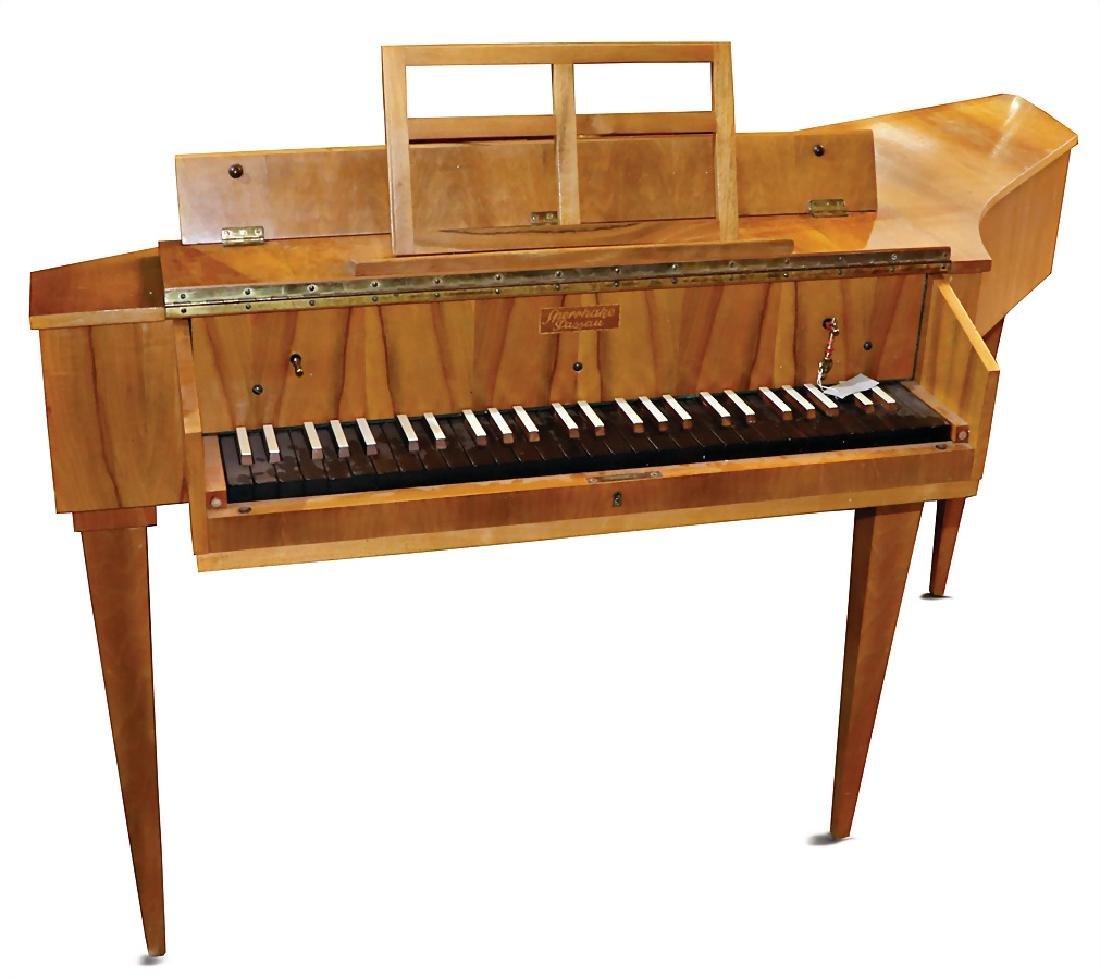 spinet Sperrhake Passau, 54 keys, 2 lute stops,