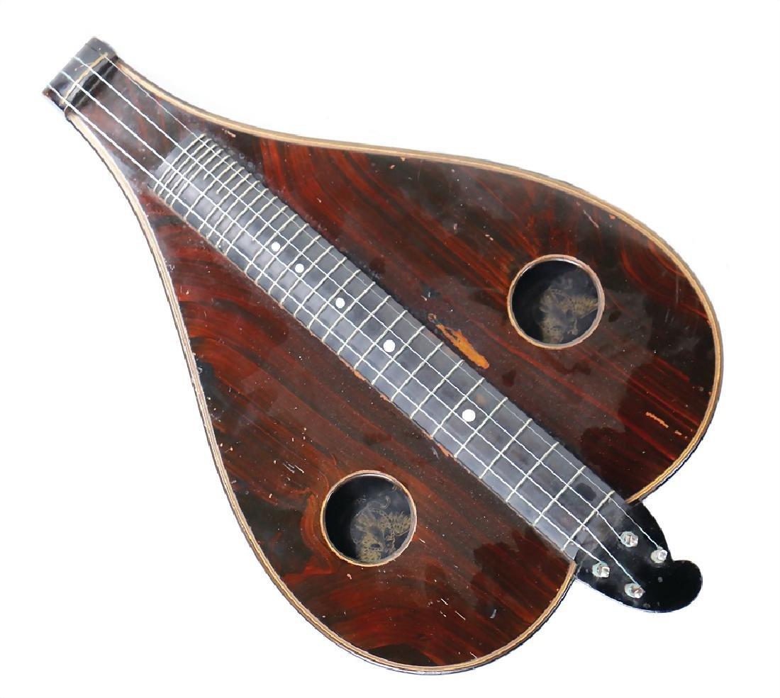 GÄSSL, MARKNEUKIRCHEN viola da gamba, around 1900, 4