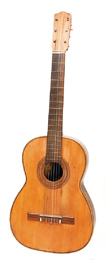 guitar, Alfredo Rodriguez, Toledo, around 1900, 98 cm,