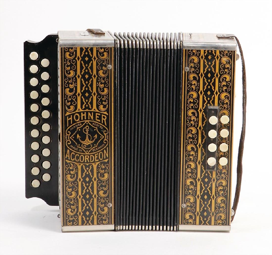 HOHNER accordion, probably from the  '20s/'30s,