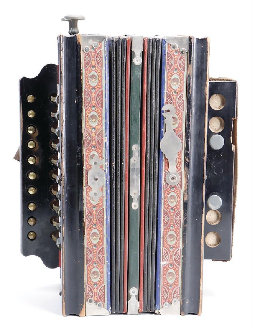 bandoneon, accordion (concertina), around 1900, with