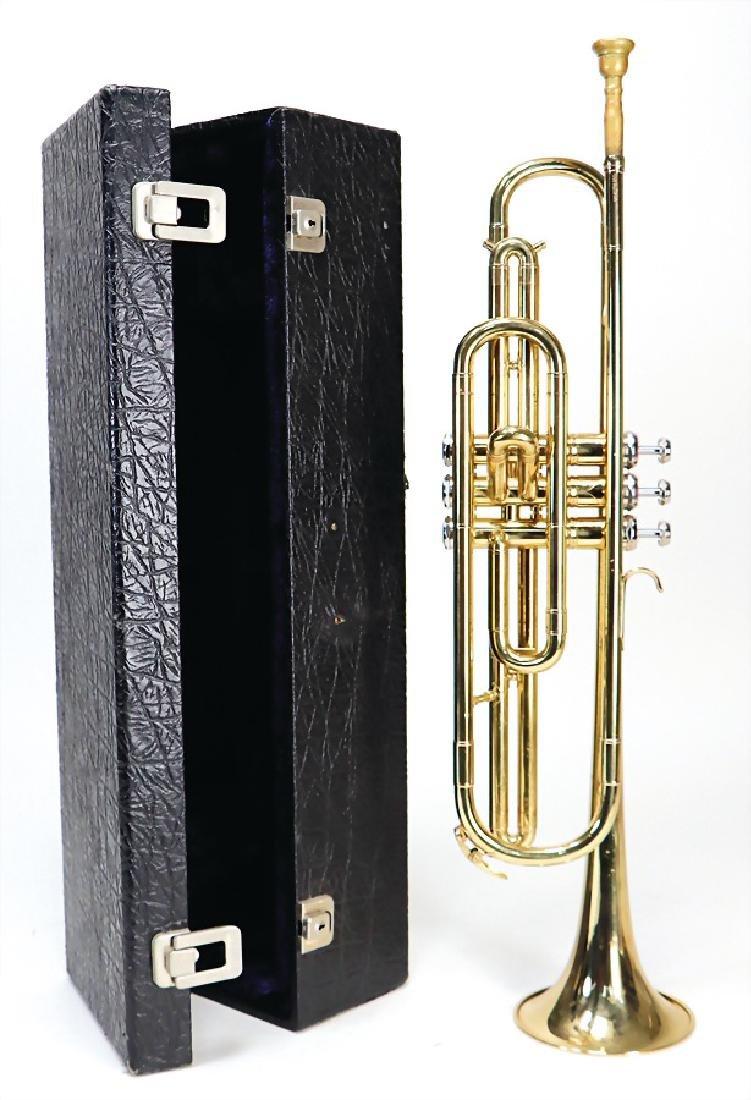 trumpet, signed K&H Kühnl in a triangle, serial number