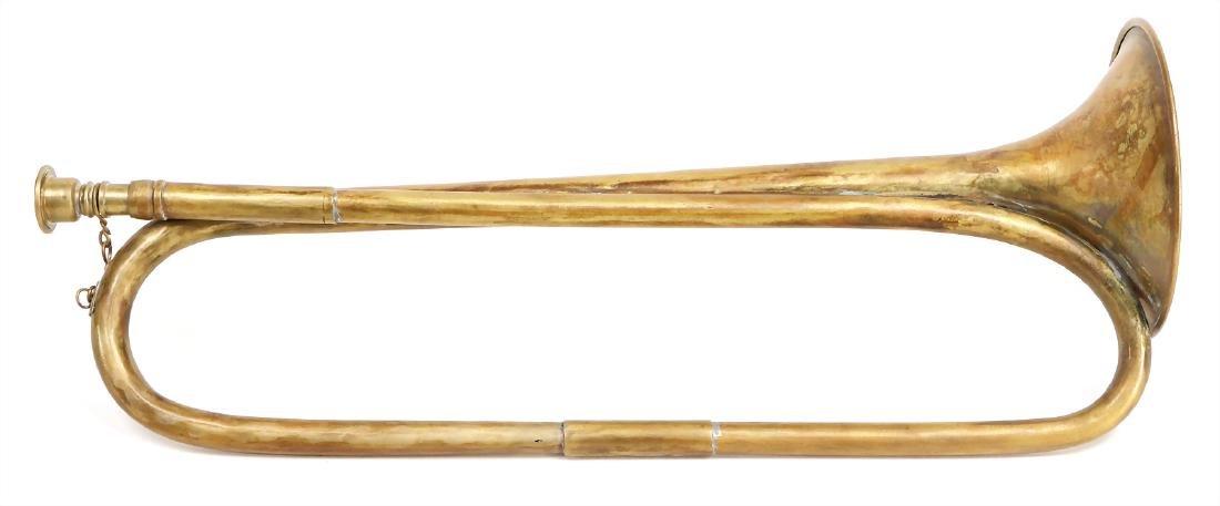 natural trumpet, unsigned, 40.5 cm, condition 3 #290d#