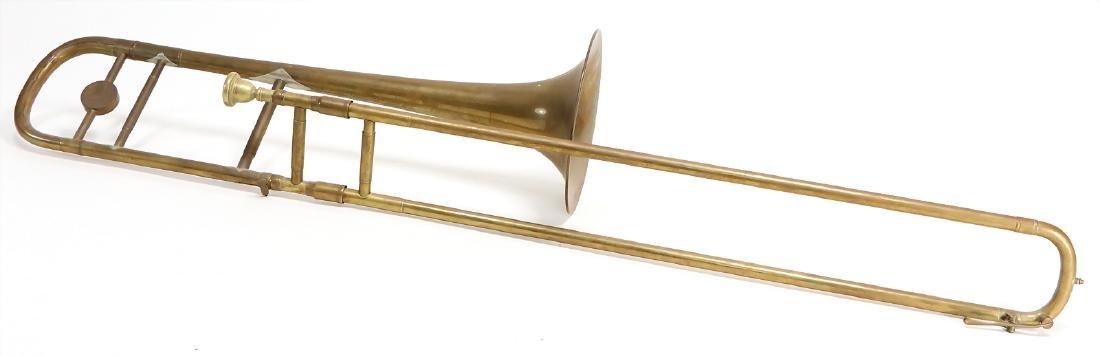 trombone, tenor in b, signature KARL DEIMER KARLSRUHE,