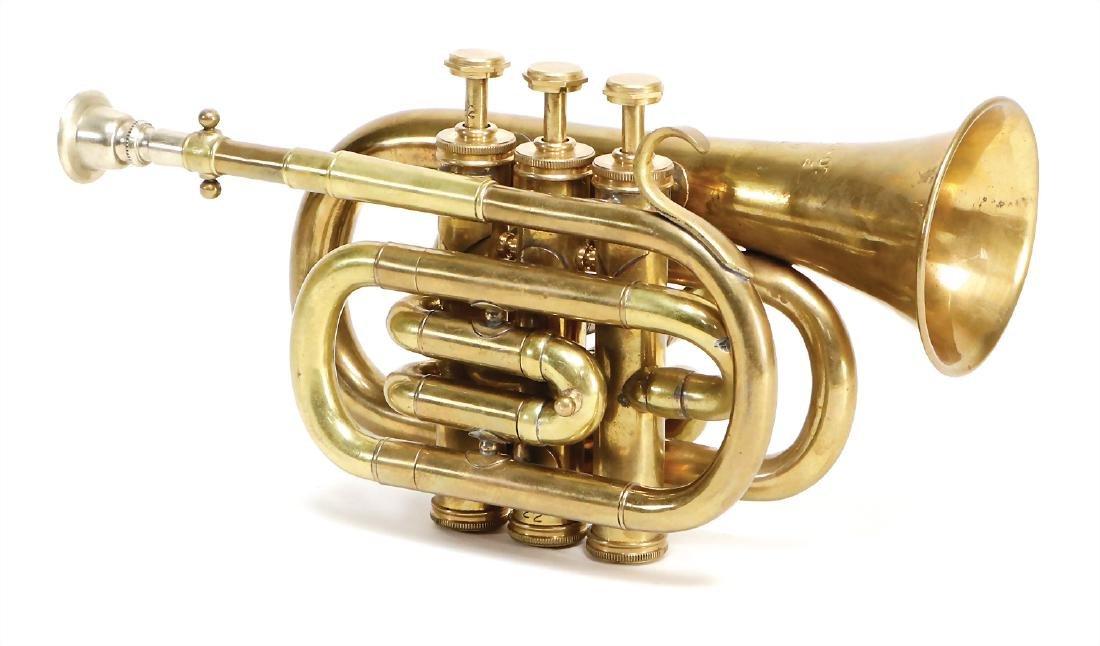 trumpet, Cornett, Bach trumpet, Piston, brass, 3