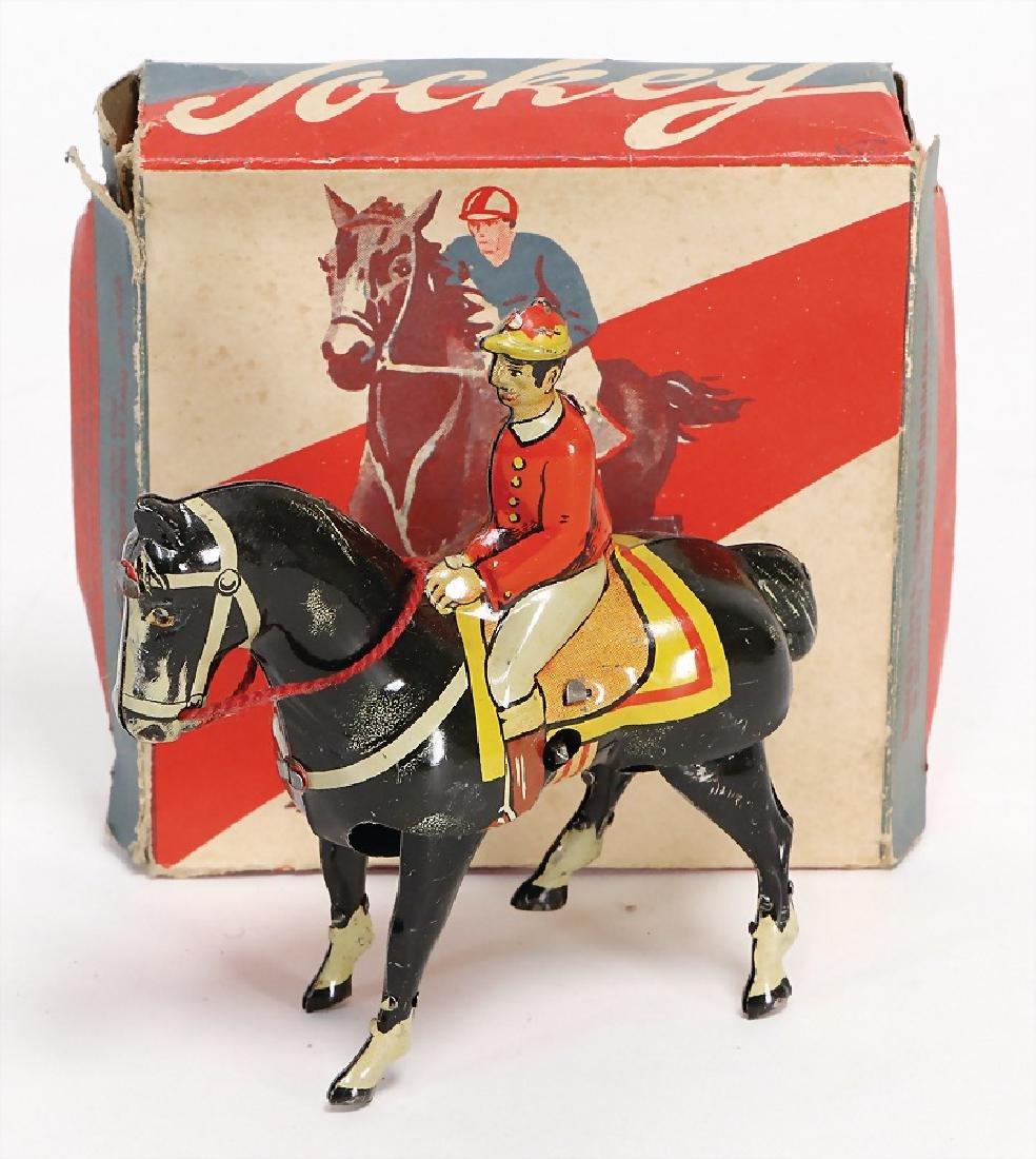 jockey, marked K900 D.R.P.A. D.G.M. Germany, 12 cm,