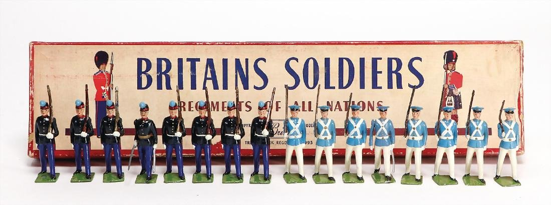 Britains Soldiers Regiments of all Nations, cadet