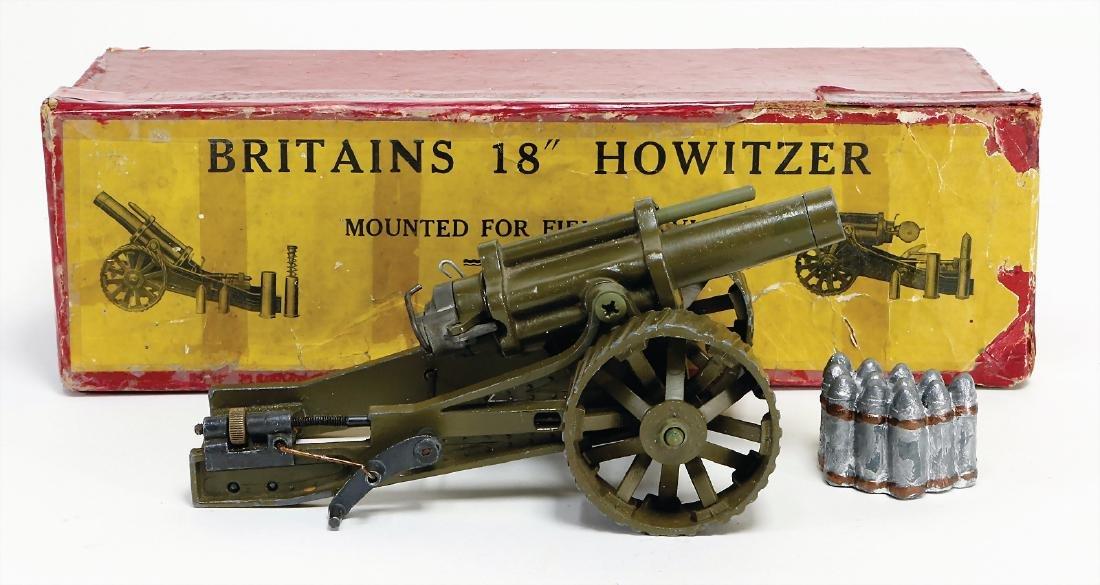 Britains 18´Howitzer, casting, 17.5 cm, in original