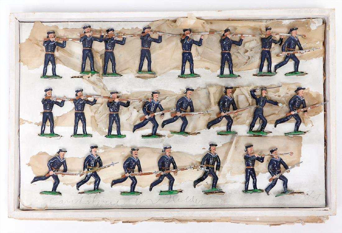 HEYDE sailors in Sturm, 169, tin composition figures, 5