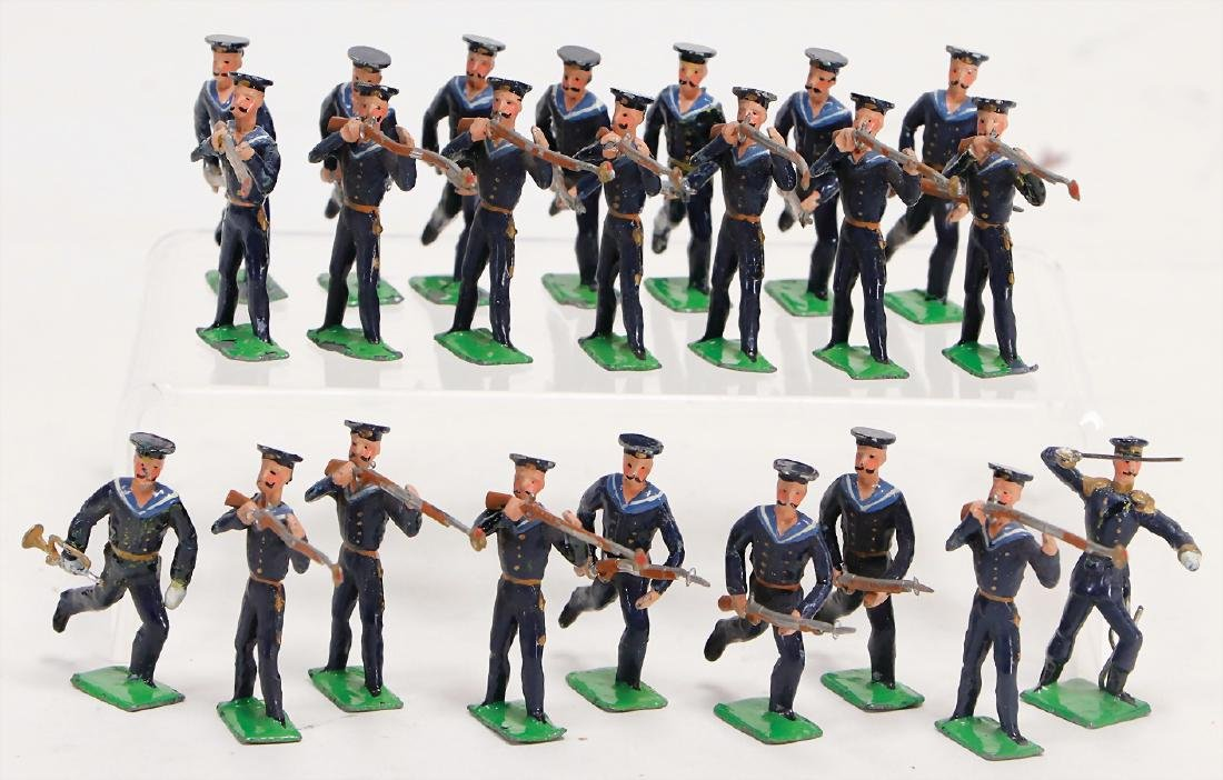 HEYDE sailors in Sturm, 169, tin composition figures, 5 - 2