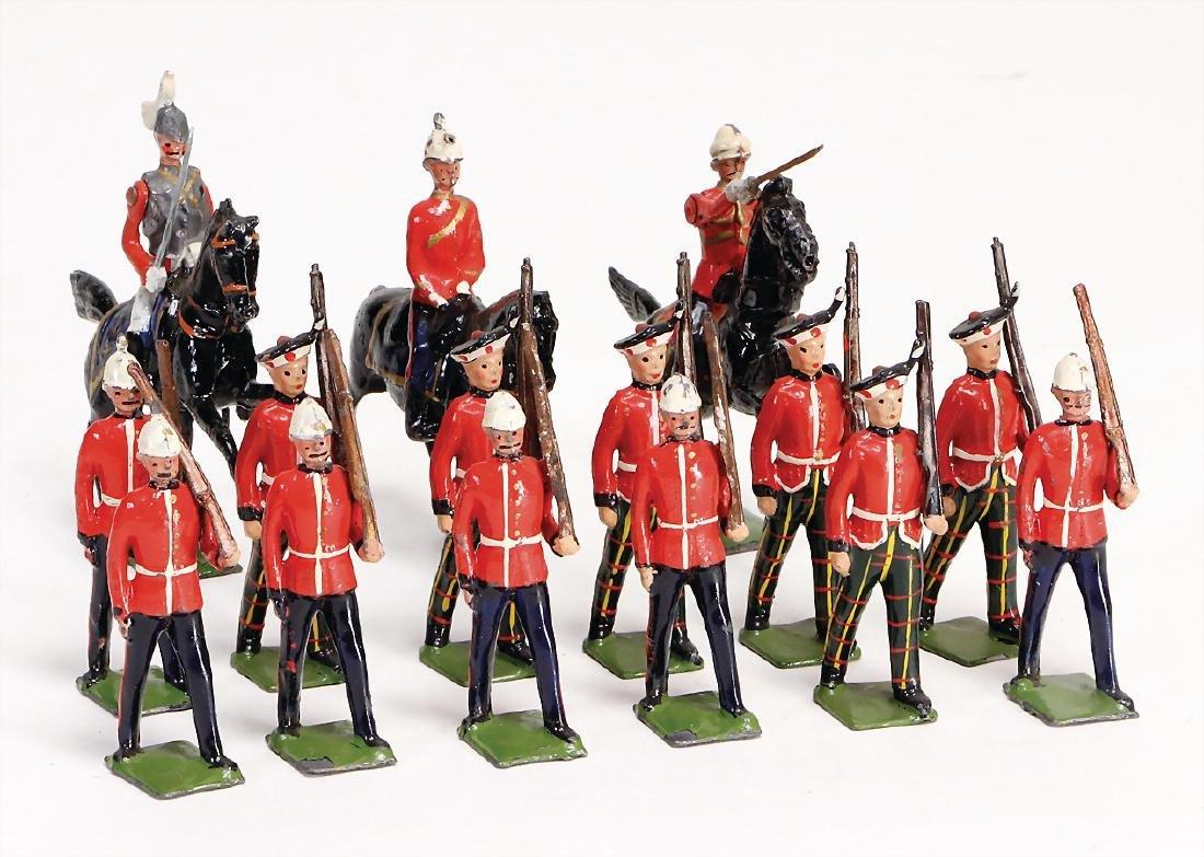 Britain, 12 marching, 3 rider, suitable too 5.5 cm,