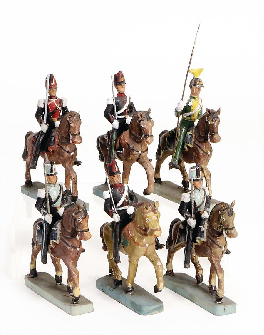 6 pieces cavalry, manufacturing Belge, mass, suitable