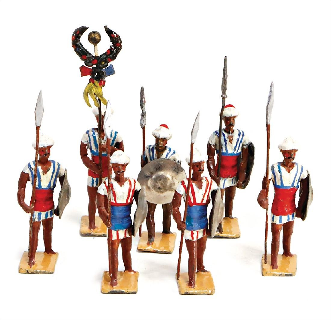 HEYDE plastic composition figures, 5.5 cm, Indian, 7