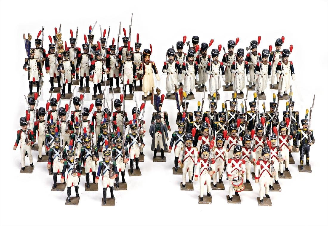 CBG MIGNOT France, Napoleon with infantry, 72 pieces,