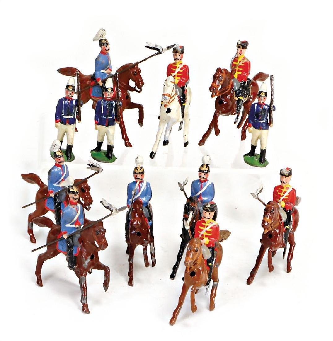 tin  composition figures, suitable for 5.5 cm, plastic,