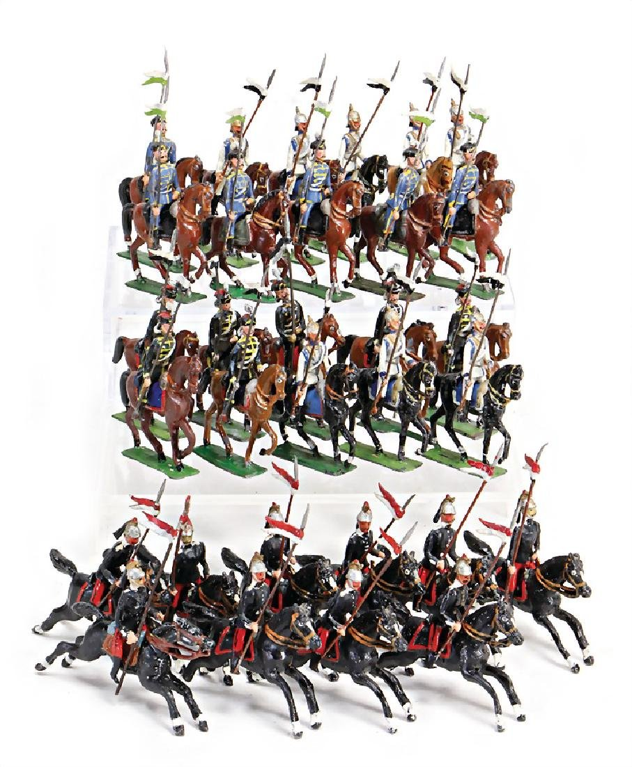 HEYDE cavalry, 45 pieces, dutchman, Frenchmen, mostly