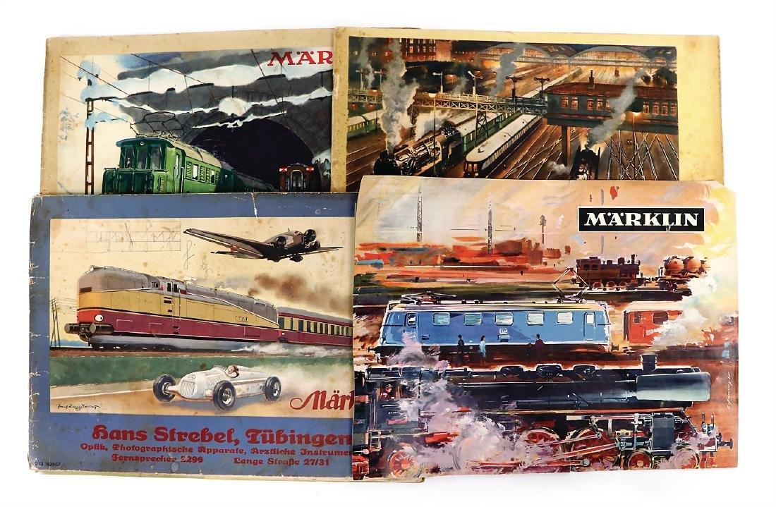 MÄRKLIN main catalog, 1936/37, 1937/38, 1939/40,