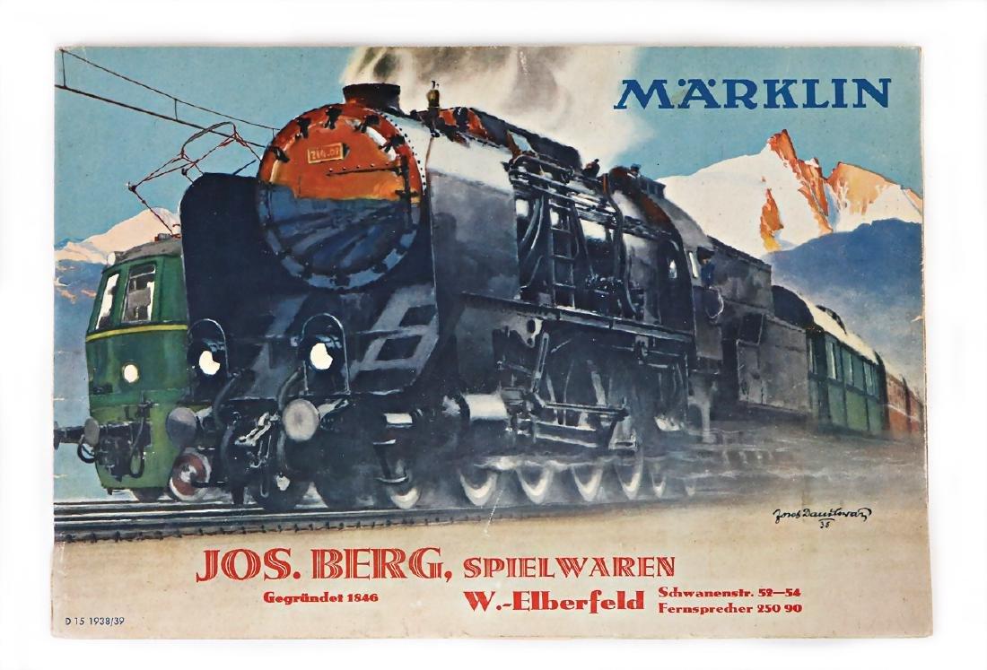 MÄRKLIN main catalog, 1938/39, games, dollkitchen