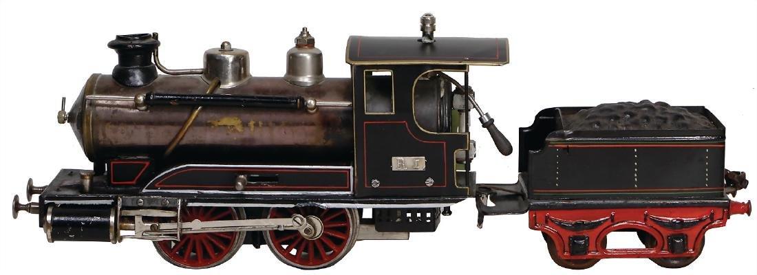 MÄRKLIN track 1, steam locomotive with separate tender