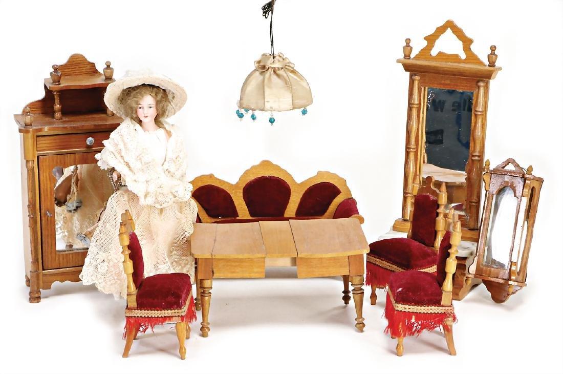 dollhouse furniture program, 1 mirrored wardrobe,