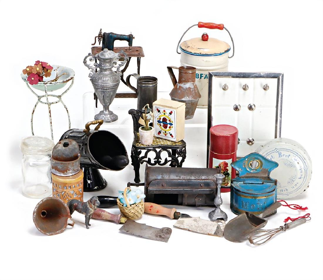 mixed lot of  kitchen furnishings, coal container,