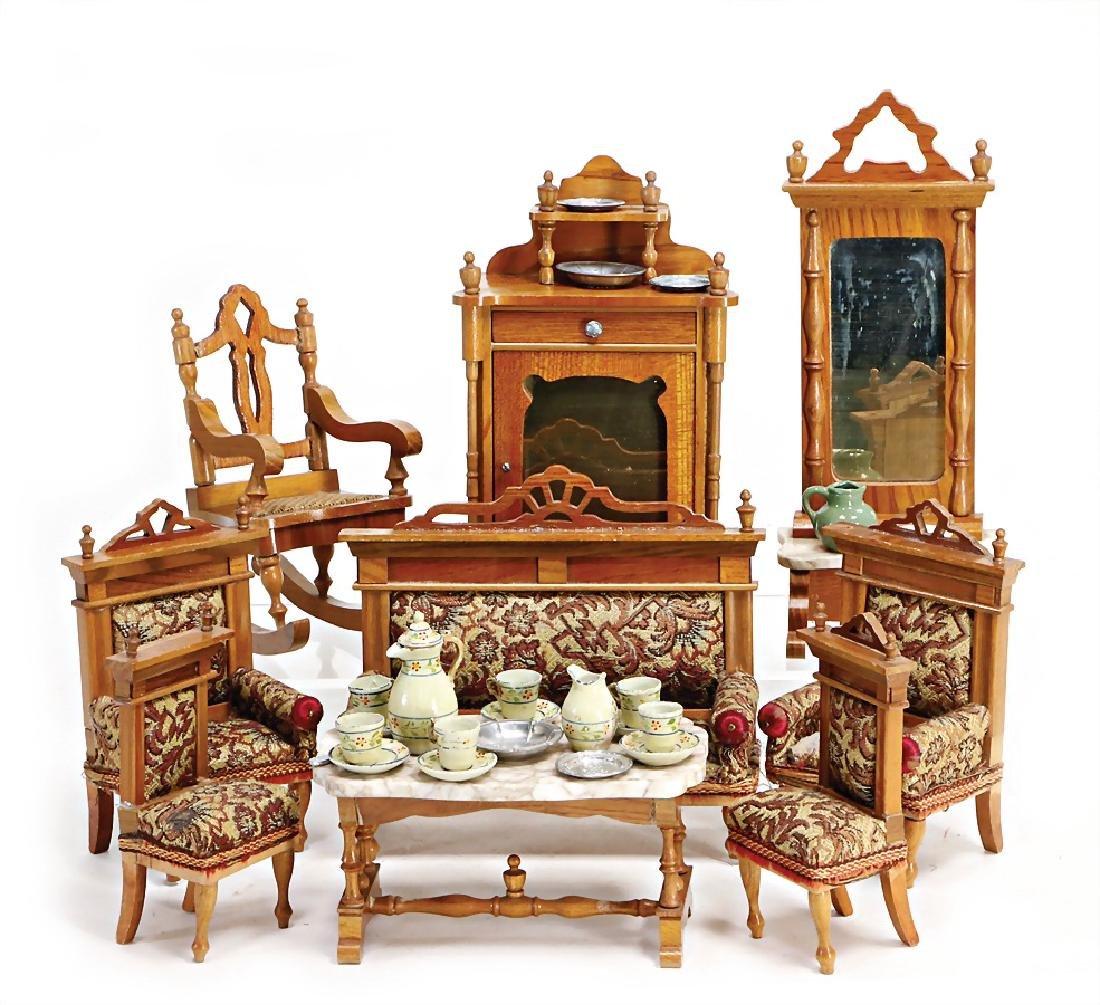 dollhouse furniture program, pear tree, cupboard,