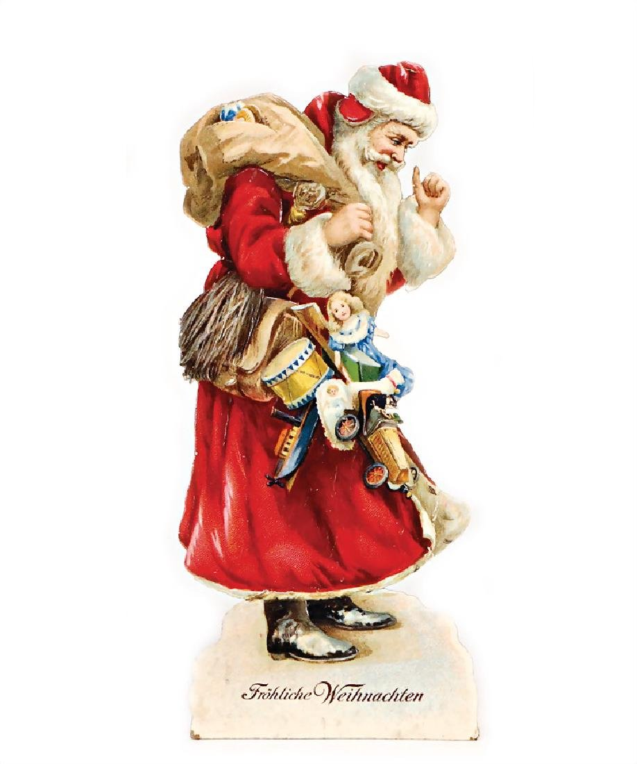 set up-wafer, Santa Claus, height: 27 cm, 2 small