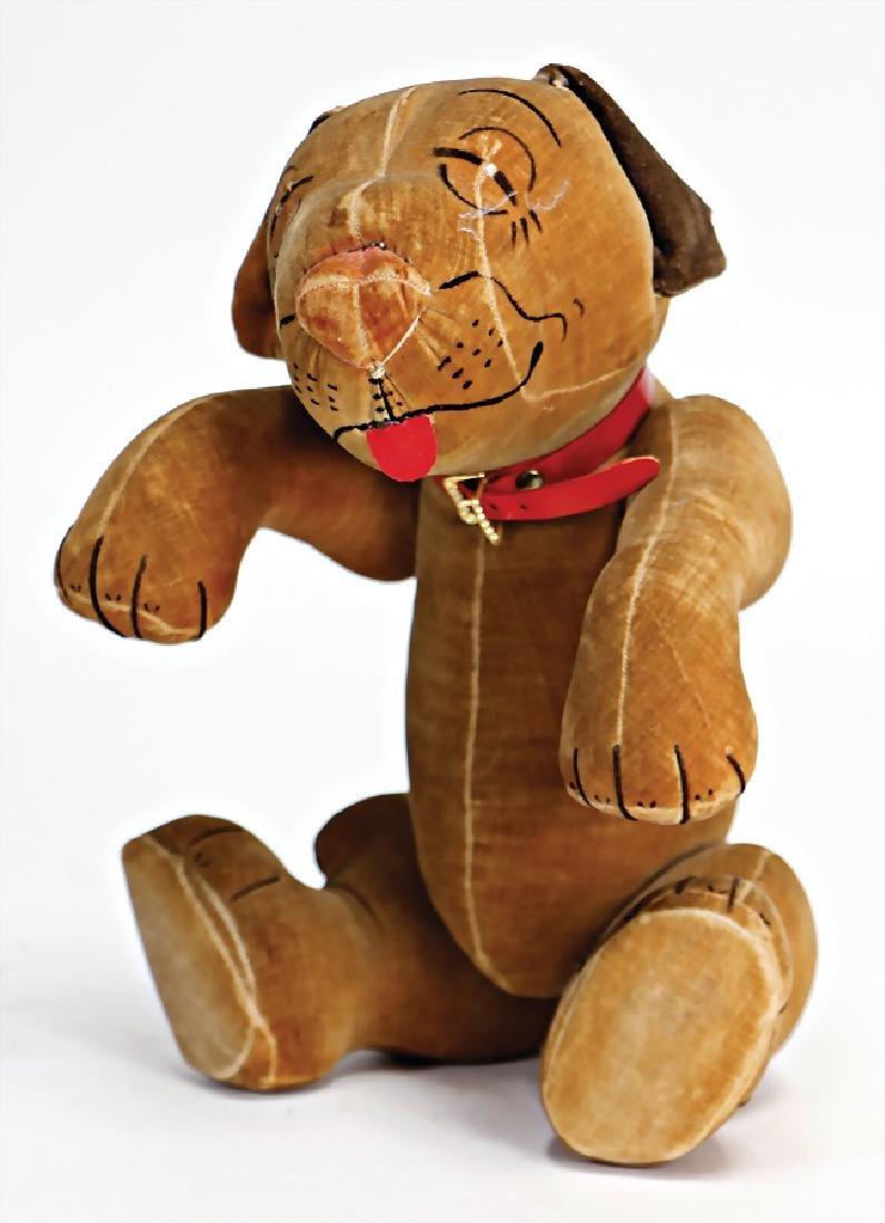 CHUCK VALLEY Bonzo, 32 cm, velvet, good condition,