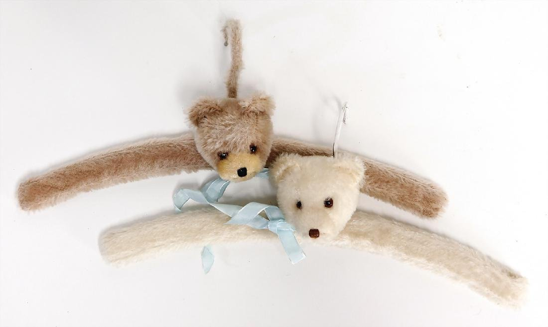 2 pieces hanger, with bear head, '50s, Steiff, without