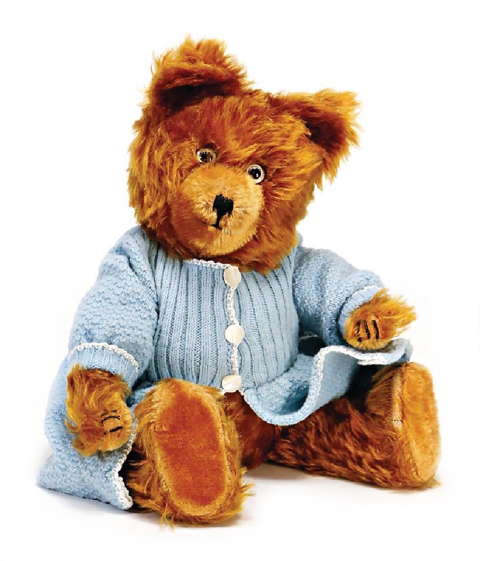 DIEHM bear, 38 cm, cinnamon, good condition, voice is