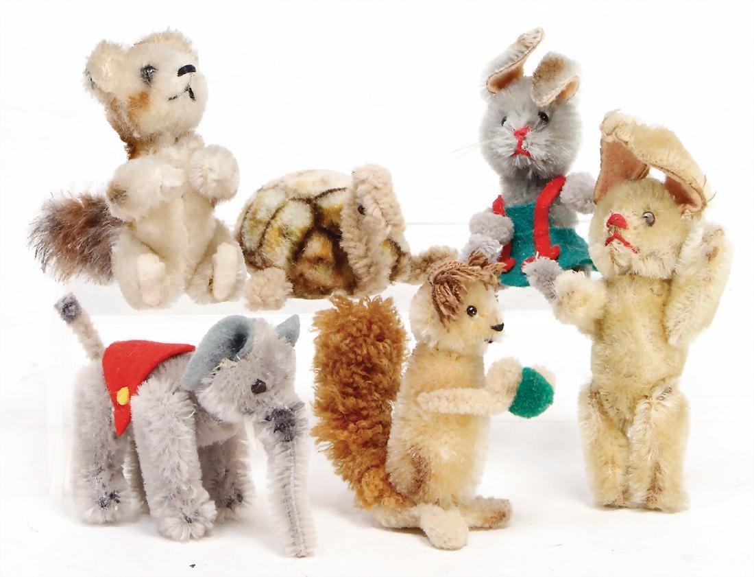 SCHUCO mixed lot with 6 pieces, Noah`s ark animals,