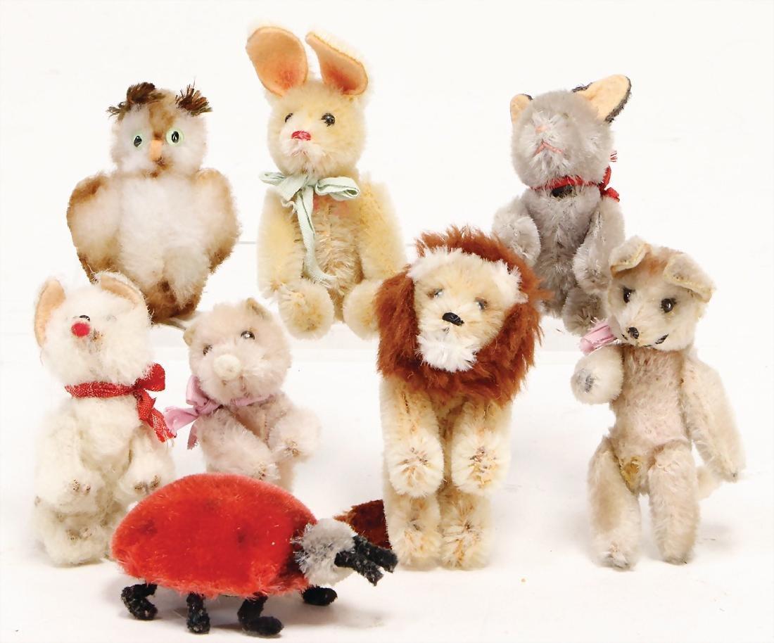 SCHUCO lot 8-part, Noah`s ark-animals, hare, owl, lion,