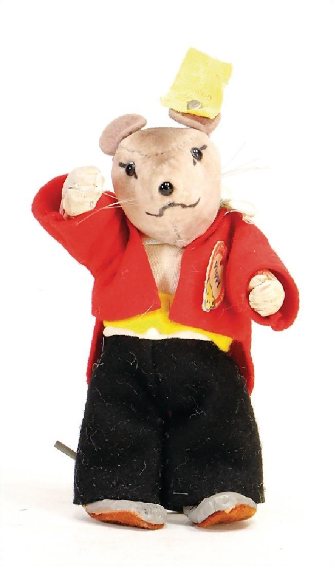 STEIFF mouse Pippy, with button, chest label and  cloth