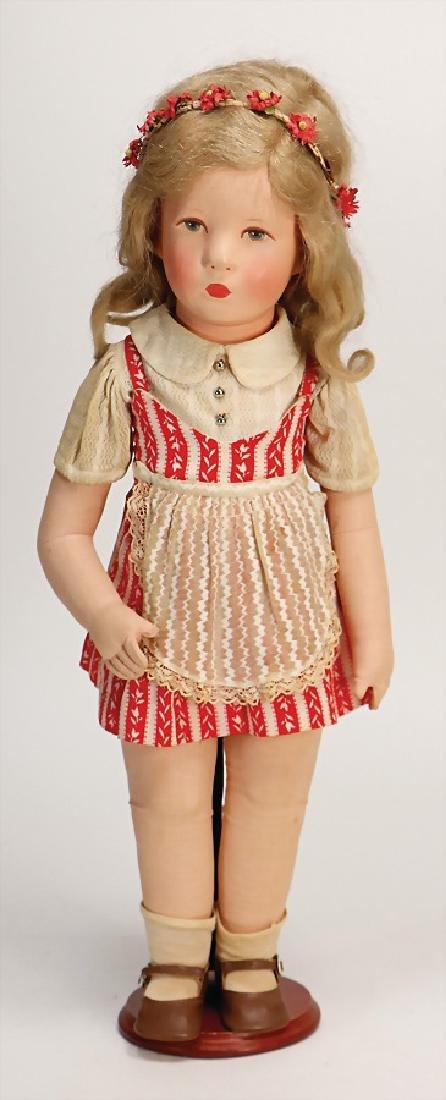 KÄTHE KRUSE doll No. 8, Ilsebill, 52 cm, fabric head,