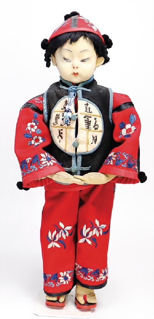 CHUCK VALLEY Chinese, felt, 59 cm, original felt