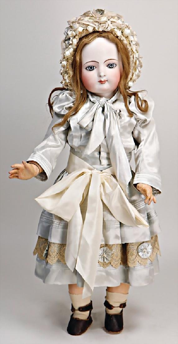 doll with bisque head, France, marked 14, 76 cm, fix