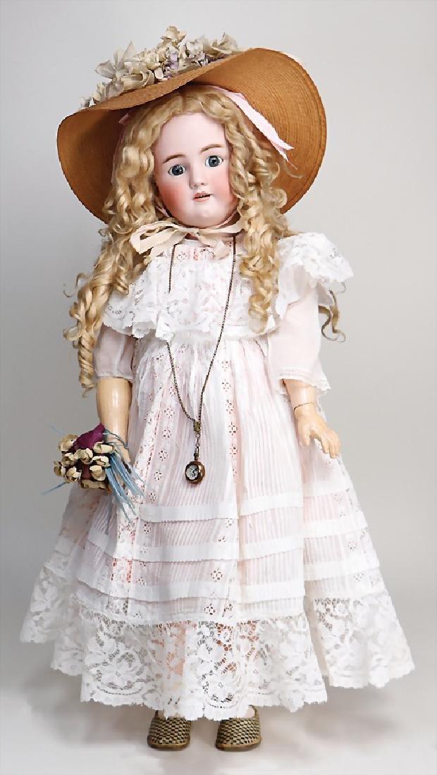 HEINRICH HANDWERK SIMON & HALBIG doll with bisque