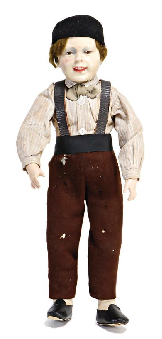 artist doll, probably from the '20s, 39 cm, boy,