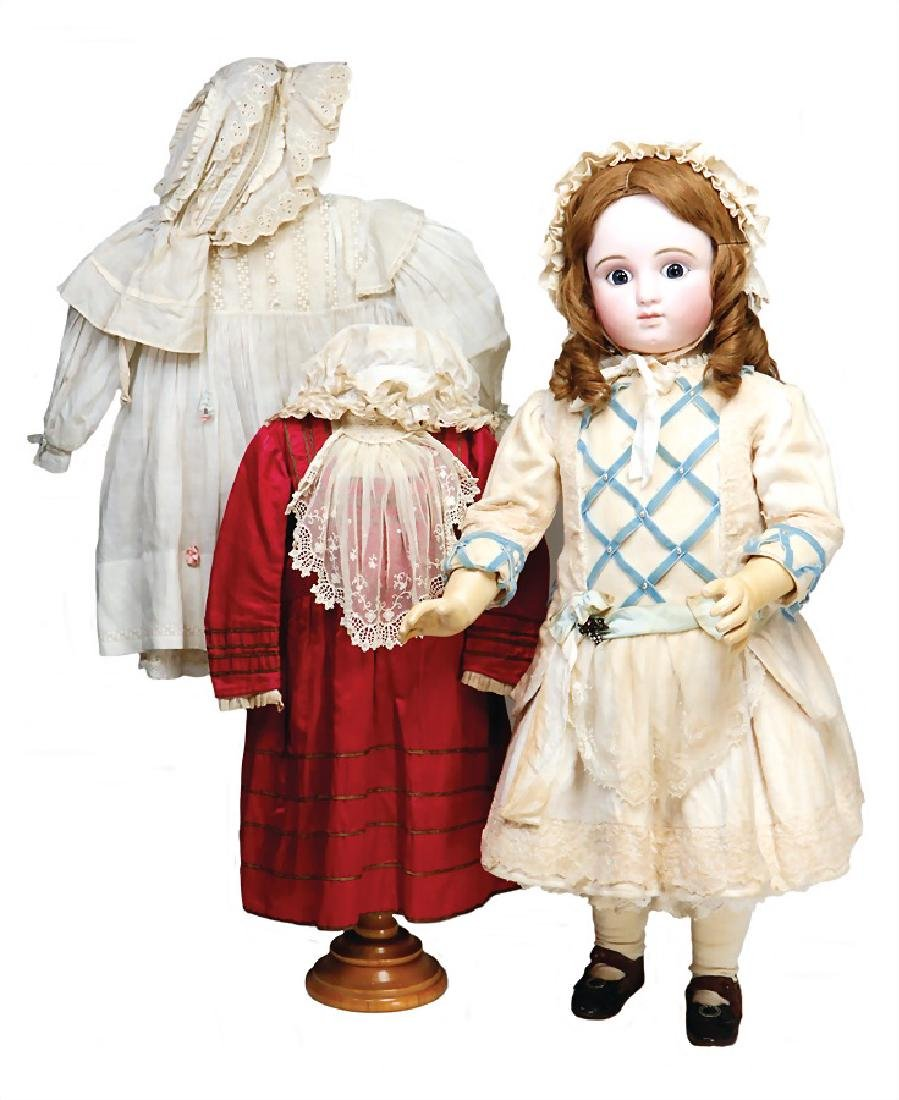 STEINER French Bébé, doll with biscuit porcelain socket
