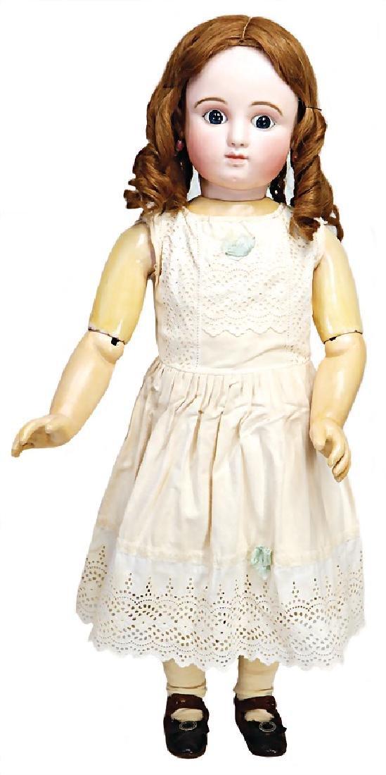 STEINER French Bébé, doll with biscuit porcelain socket - 2