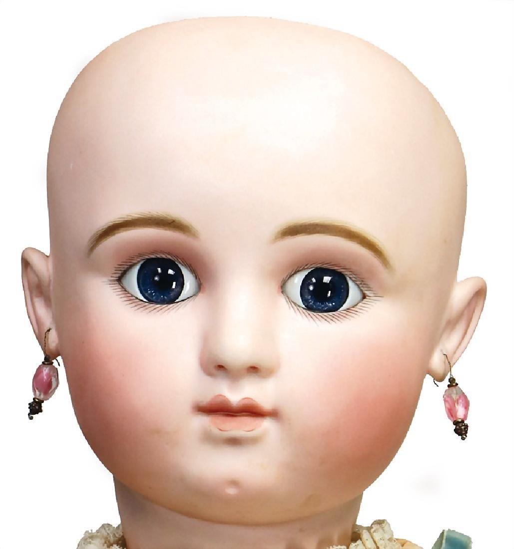 STEINER French Bébé, doll with biscuit porcelain socket - 6