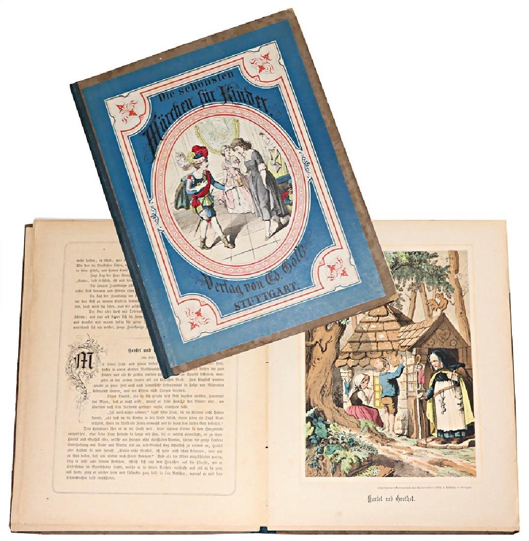 Bilderbuch, Biedermeier, Die schönsten Märchen für
