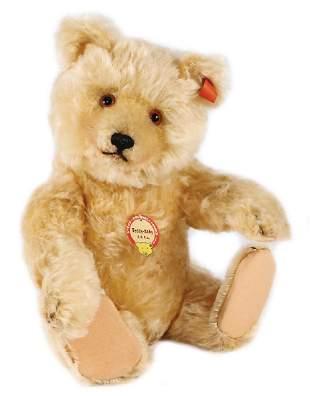 STEIFF teddy baby, produced between 1929-1932, closed